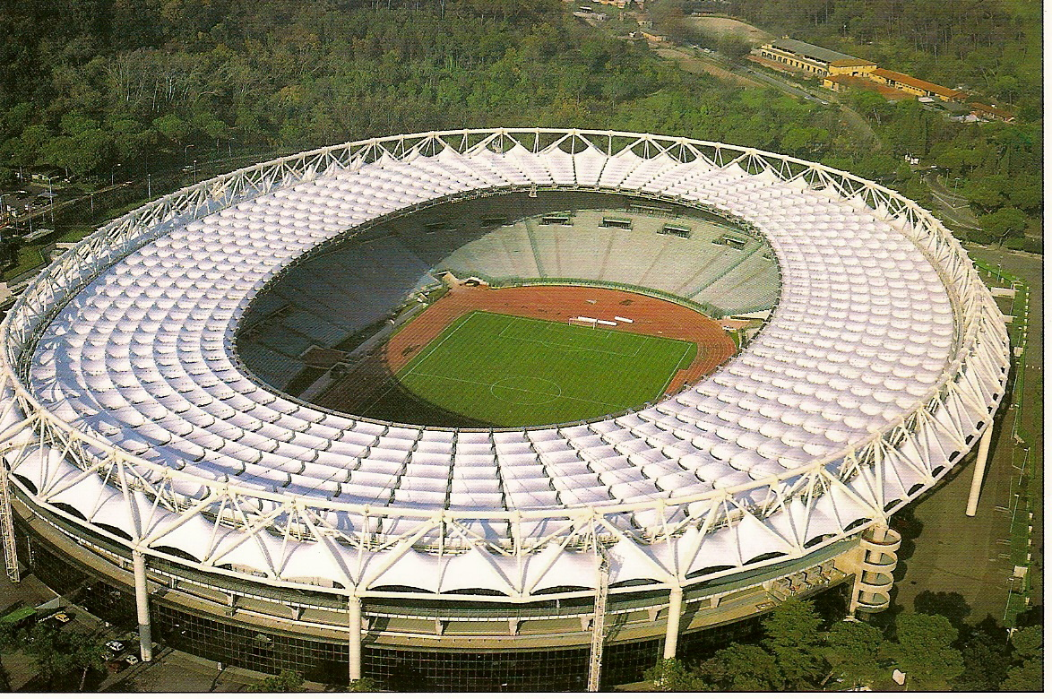 Stadio Olimpico Rome. ItalienFodbold.dk