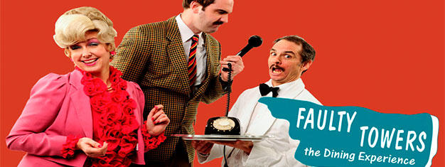 Inspired by one of the best comedy series Faulty Towers, this production is set in a restaurant where you the audience are the diners. Book tickets here!
