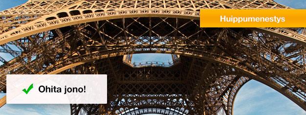 Ohita jonot Eiffel-torniin! Etukäteen ostetuilla lipuilla ohitat muut turistit ja vältät tuntien jonottamisen. Varaa liput nyt!