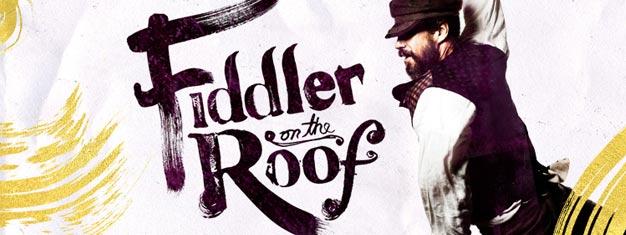 Ein kleines Wunder! Das berühmte Broadway Musical kehrt zurück: Fiddler on the Roof. Buchen Sie Ihre Tickets für diesen Klassiker am Broadway in New York