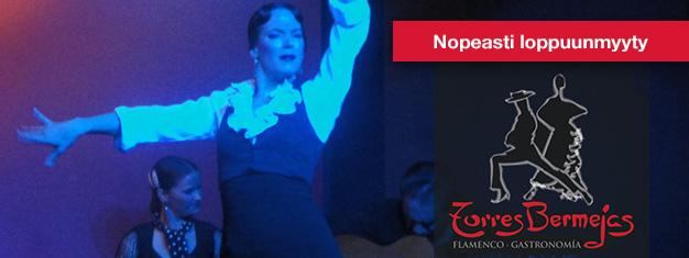Flamenco-esitys Torres Bermejasissa Madridissa on perinteinen flamenco-esitys. Liput Torres Bermejasiin täältä!