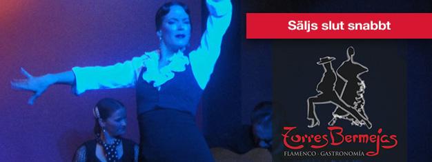 Biljetter till Flamenco på Torres Bermejas i Madrid! Köp biljetter till en traditionell flamenco show, med dryck eller tapas, på Torres Bermejas i Madrid här!