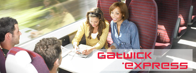 Travel from Gatwick Airport to the centre of London with the Gatwick Express. Children under 5 free! The journey takes about 35 minutes!