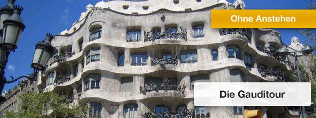 Erleben Sie Gaudis Barcelona:Casa Batlló & Sagrada Familia! Ein absoluter Pflichttermin bei Ihrem Besuch in Barcelona. Tickets online buchen!