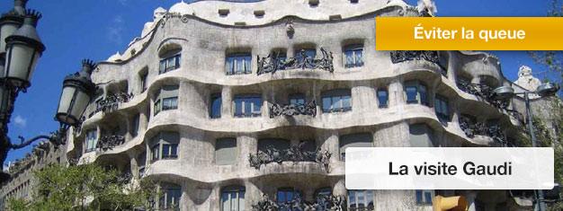 Découvrez le meilleur de Barcelone de Gaudí: la Casa Batlló et la Sagrada Familia! Réservez vos billets en ligne!