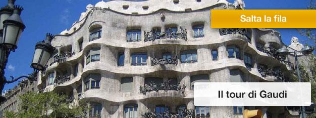 Goditi il meglio della Barcellona di Gaudí: Casa Batlló e Sagrada Familia! Un must per chiunque visiti Barcellona! Prenota online!