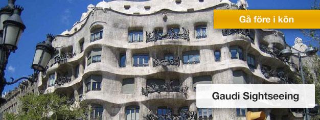 Se det bästa av Gaudis Barcelona. Ett absolut måste för alla som besöker Barcelona. Biljetter till Gaudi Sightseeing i Barcelona köper du här!