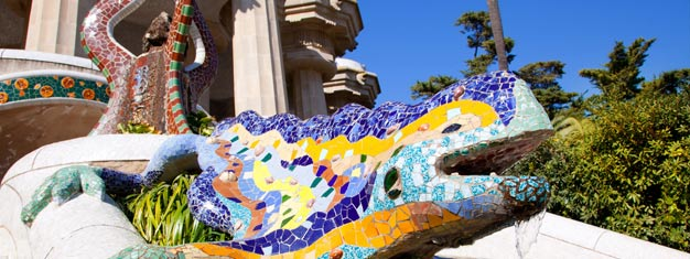 Skip the line to Park Güell with your guide! Enjoy a walking tour around the incredible public park by Antoni Gaudi. Book your tickets online!