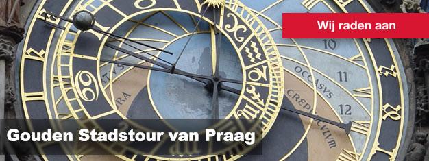 Koop uw tickets voor de Gouden Stadstour van Praag hier, en ontdek alles van Praag met de bus, de boot en te voet!