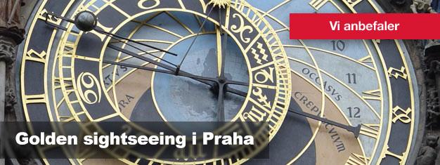 Kjøp billetter til Golden City Tour i Praha her, og opplev hele Praha til fots, i buss og i båt!
