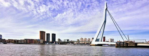 Besøk Rotterdam og Haag alt i én tur i storslåtte Sør-Nederland. Transport til/fra Amsterdam inkl. Gratis for barn under 4 år. Bestill nå!