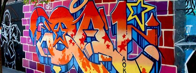 Dosamantes da arte ou artistas de graffiti a principiantes, este tour é uma oportunidade única para conhecer em primeira mão a arte de rua original de NYC. Reserve online aqui!