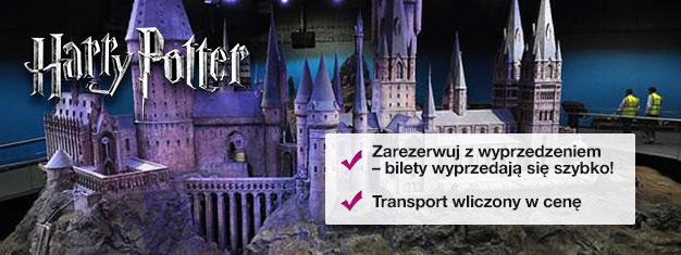 Zobacz, gdzie kręcono filmy o Harrym Potterze podczas wycieczki za kulisy produkcji. U nas kupisz bilety na wycieczkę po Warner Bros. Studio z Harrym Potterem!