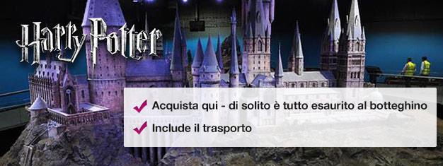 Guarda dove è stato fatto Harry Potter e prova l'Hogwarts Express! Prenota subito e salta la coda in biglietteria!