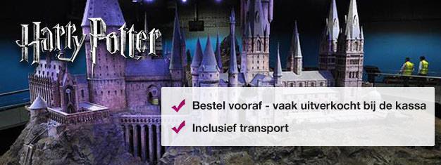 Bekijk waar de Harry Potter films tot leven kwamen tijdens deze tour achter de schermen. Zo stap je direct op de Hogwarts Express! Koop je tickets online en sla de rij voor de kassa over!