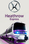 Treno Heathrow Express per Paddington Station