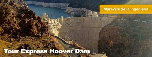 Cuando visites Las Vegas no te pierdas el Hoover Dam. A menudo conocido como una de las 7 maravillas del mundo creadas por el hombre. Reserva aquí!