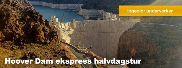 Når du besøker Las Vegas bør du sikre deg å oppleve Hoover Dam. Ofte er den kalt en av de 7 menneskelagde underverki verden. Book her!