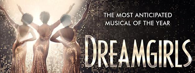 35 vuotta uraauurtavan alkuperäisen Broadway-tuotannon jälkeen, tämä sensaatiomainen ja tunnettu musikaali Dreamgirls saa ensi-iltansa West Endissä Lontoossa!