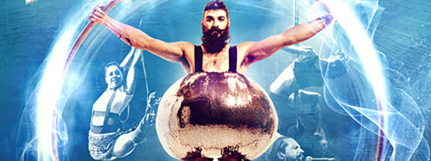 Barbu is daring, daft, and sexy as hell! It's cabaret, but not as you normally know it. Barbu is performed by Canada's Cirque Alfonse. Book online!