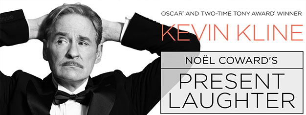 Kevin Kline will make his long awaited return to the Broadway stage, to star in Noel Coward's uproarious comedy, Present Laughter. Book your tickets here!