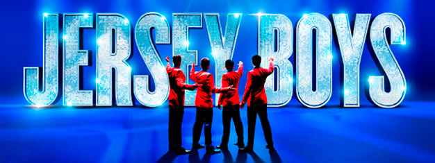 Experience the musical Jersey Boys about Frankie Valli and The Four Seasons, one of the greatest successes in pop music history! Book tickets online!