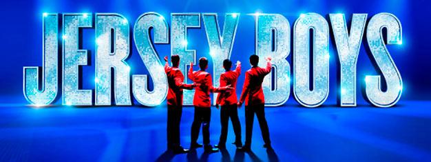 Se musikalen Jersey Boys London, om en grupp pojkar från arbetarklassen, som blev en av de största i popmusikens historia - Frankie Valli och The Four Seasons.