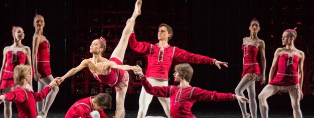 The ballet Jewels on Royal Opera House in London by Balanchine and performed by Bolshoi company. Book tickets to Jewels in London here!
