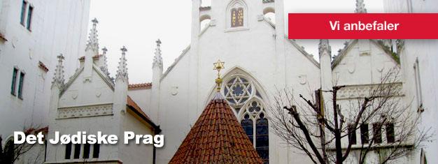Det Jødiske Prag er en guidet tur gennem det interessante og autentiske jødiske kvarter i Prag. Køb dine billetter til turen; Det Jødiske Prag her!