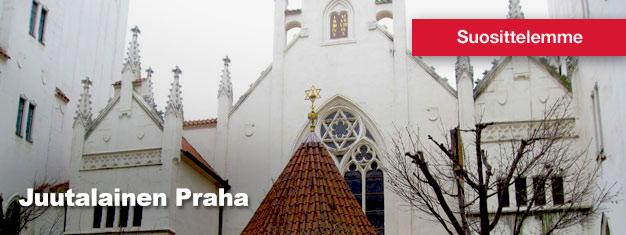 Juutalainen Praha on opastettu kierros Prahan mielenkiintoisen ja aidon juutalaisen korttelin halki. Osta lippusi täältä!