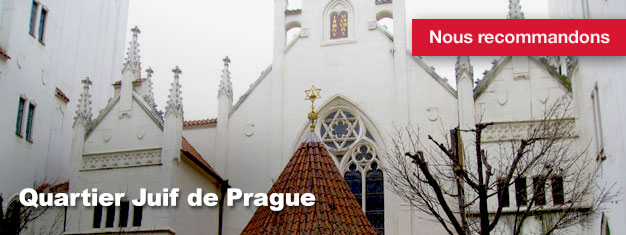 La visite du Quartier Juif de Prague est une excursion guidée à travers