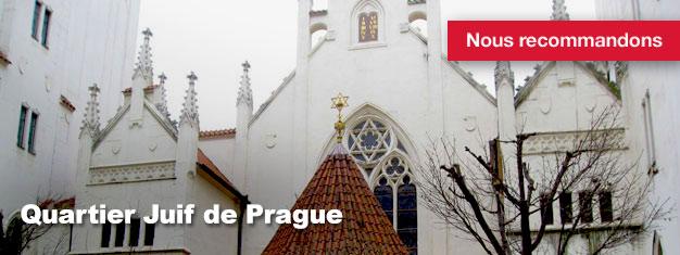 La visite du Quartier Juif de Prague est une excursion guidée à travers