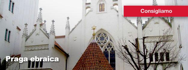 Il tour Praga ebraica è un tour guidato attraverso l'interessante ed autentico quartiere ebraico di Praga. Compra qui i biglietti per il tour!