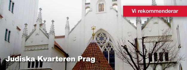 Guidad sightseeingtur i de Judiska Kvarteren i Prag, inklusive den gamla judiska kyrkogården. Köp dina biljetter här!