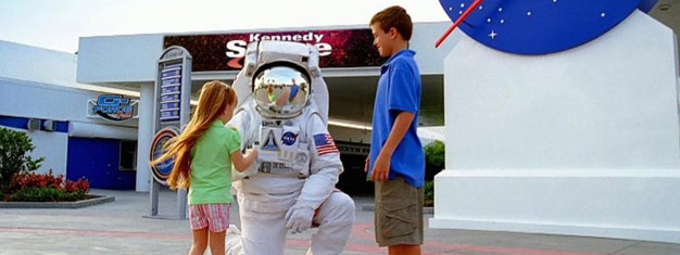 Book admission tickets to Kennedy Space Center! Meet an astronaut, try a launch simulator ride, see the Space Shuttle Atlantic up close and much more!