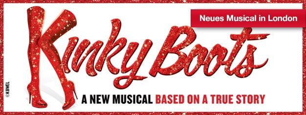 Kinky Boots wird Ihr Herz im Sturm und auf Highheels erobern! Mit Songs der Popikone Cindy Lauper! Jetzt im Londoner West End, Tickets online buchen!