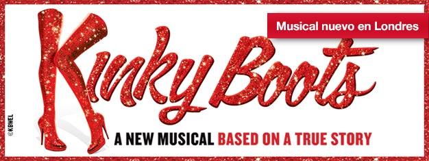 Kinky Boots es entrañable musical llegado desde Broadway con los mejores éxitos de Cyndi Lauper! Ahora lo puedes ver en el West End de Londres-reserva aquí!