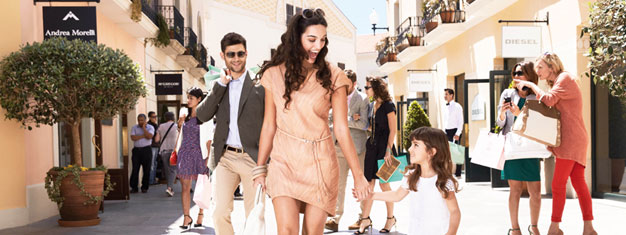 Save up to 60% on designer labels and famous brands at the popular shopping outlet La Roca Village outside Barcelona! Book your tickets online!