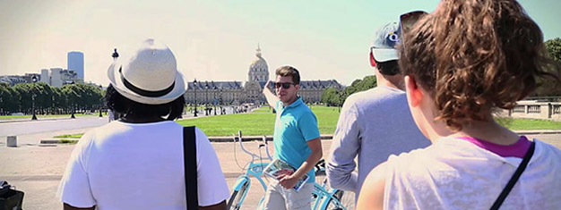 Experience the best of Paris by bike! Get up close look at some of Paris' most popular monuments in a fun and safe way! Book tickets online!