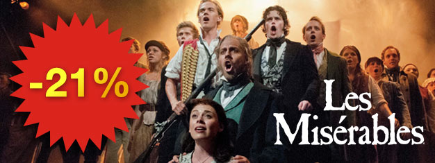 Les Misérables is a must-see musical with a beautiful score! Experience the award-winning musical on Broadway in NY. Book your tickets in advance!