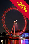 Lippuja London Eye