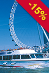 Tickets to London Eye & boottocht