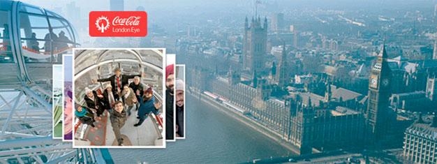 Felnőtt jegyek a Millenniumi Kerékre (London Eye): közvetlenül a Temze-partról csodálhatja meg Londont. Rendelje meg jegyét most, és még ma elküldjük Önnek e-mailben!