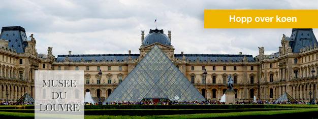Slippinngangskøentil Louvre-museet i Paris. Kjøp billetter inkl. lydguide til Louvre-museet her, og nytmuseum i ditt eget tempo.