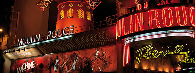 Enjoy a scenic cruise on the Seine followed by a spectacular show with champagne at the Moulin Rouge. Make sure you get tickets, book from home!