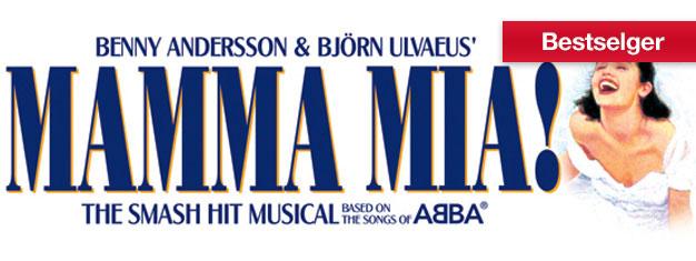 Opplev Mamma Mia på Broadway før det er for sent! Musikk av ABBA. Lukker september 2015! Bestill billetterpå nettet!