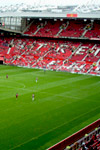 Manchester United vs AZ Alkmaar Europe League at Old Trafford on 2019-12-12