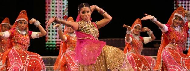 Představení Merchants of Bollywood vLondýně navštívily již více než 2 miliony diváků, kteří si jej okamžitě zamilovali. Vstupenky na tento výjimečný muzikál zakoupíte zde.