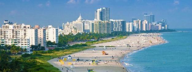 Découvrez Miami en un jour! Regardez les yachts, faites du shopping à Bayside Mall et baladez vous le long de la plage à South-Beach. Réservez votre tour à Miami en ligne!