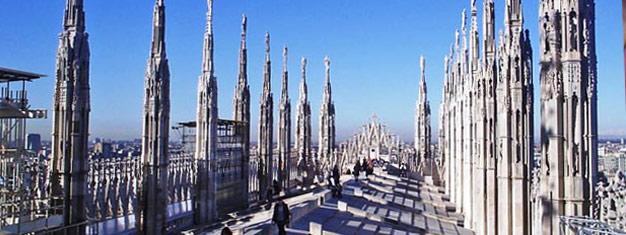 Esta visita guiada pela Catedral Duomo inclui entrada prioritária, sem se preocupar com as filas. Aproveite o conhecimento do guia neste tour em grupo limitado, reservas online!